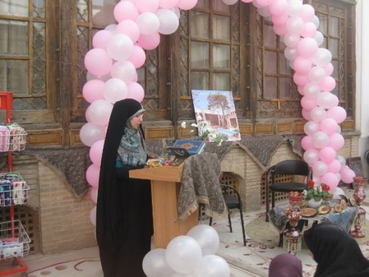 گزارش برگزاری مراسم جشن میلاد حضرت زهرا سلام الله علیها